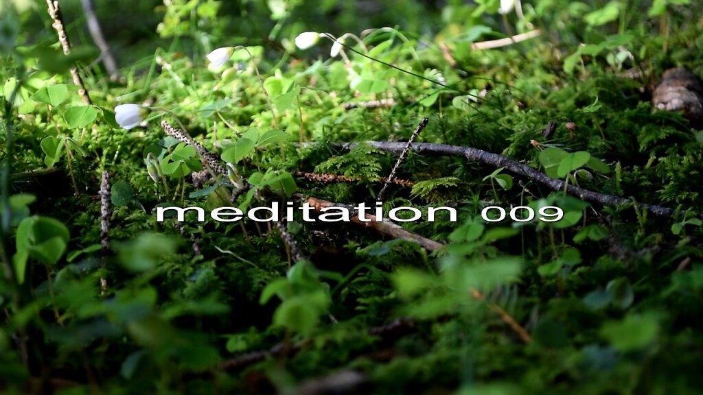 Meditation - 009 - by JfR - Video art -